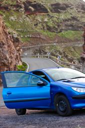 Car Rental tours at Gran Canaria Island to Anden Verde Westcoast